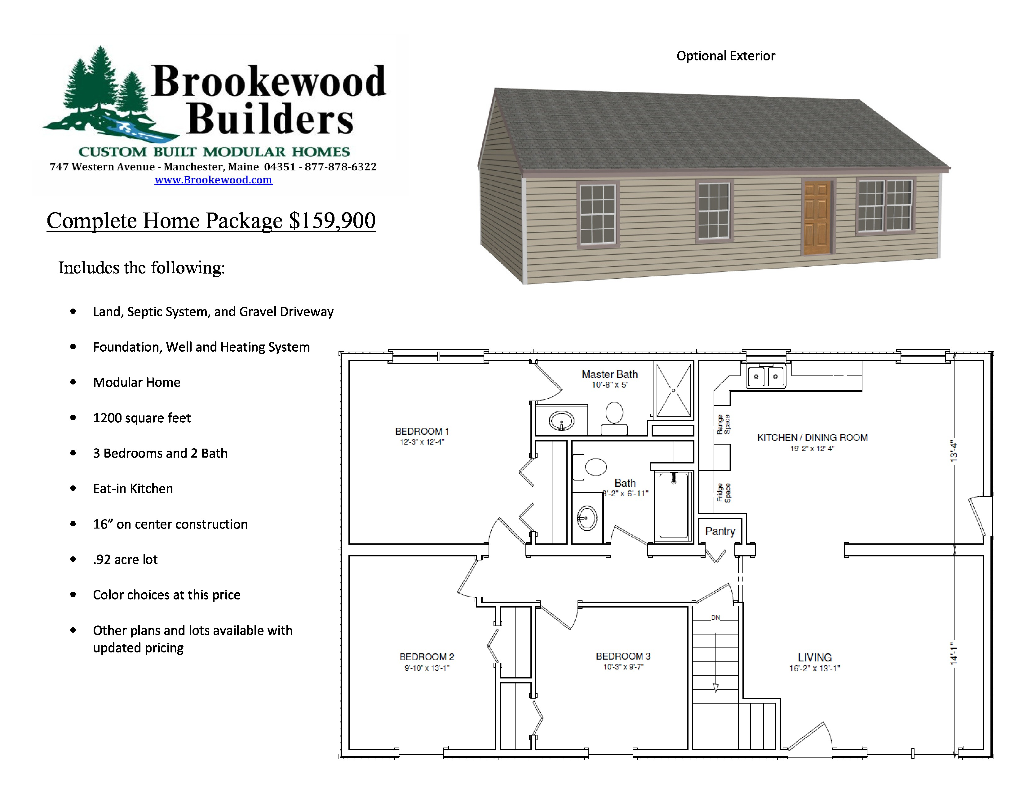 land home packages news brookewood builders 29818