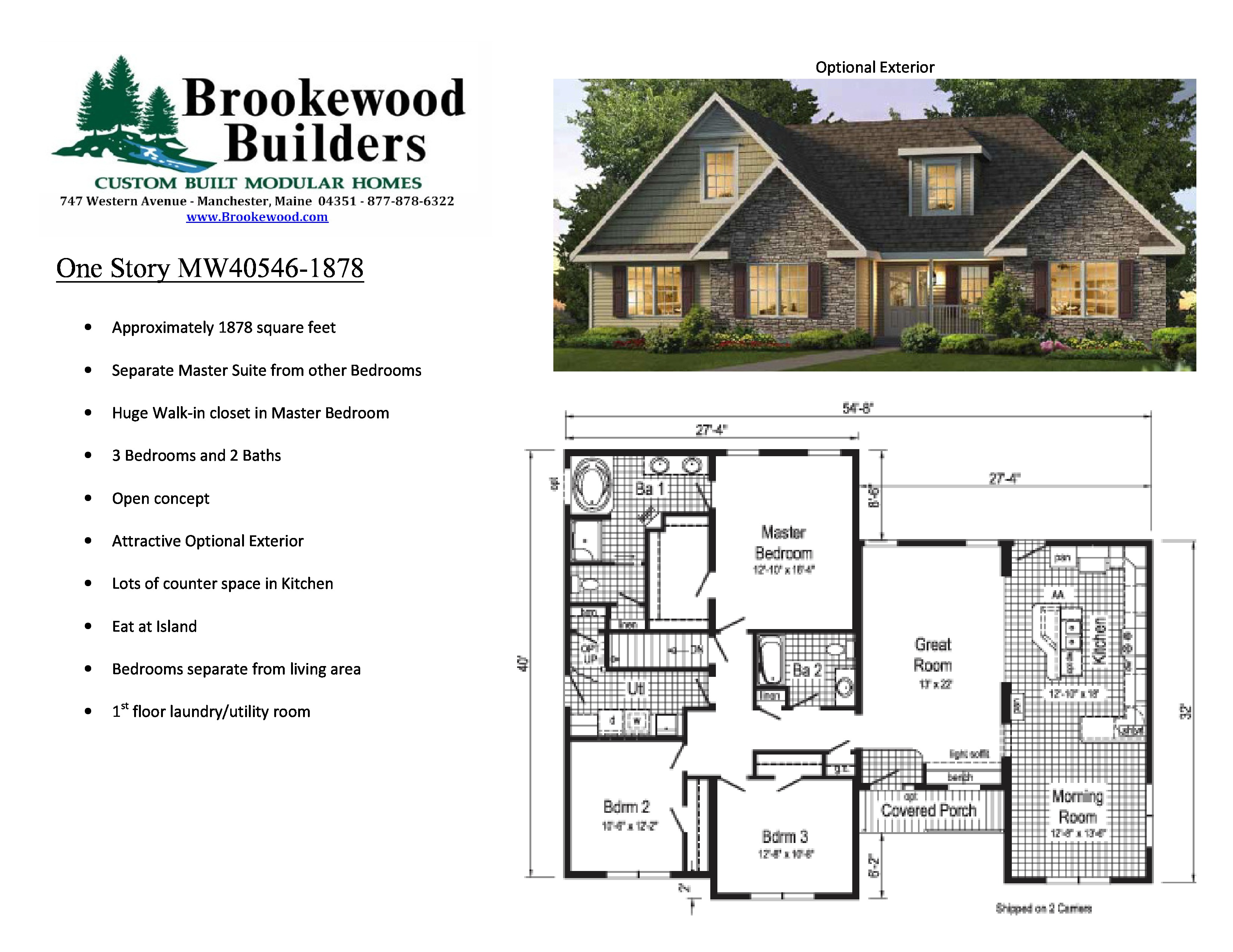 Free Home Plans | Brookewood Builders | Manchester Maine